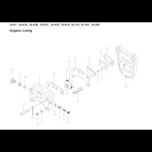 Cleveland - 30-67C - Brake Assembly - diagram