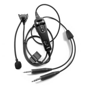BOSE - A20 Headset cable, Twin plugs - 327070-2020