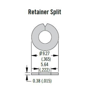 SOUTHCO STUDS - 82-32-101-20 - Southco Split Ring Retainer