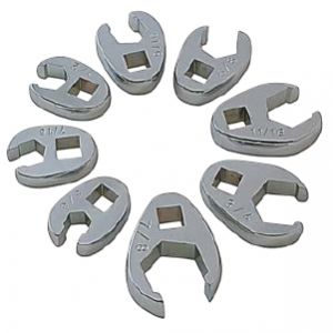 SUNEX - 8 Piece Flare Nut Crowfoot Wrench Set - 9708