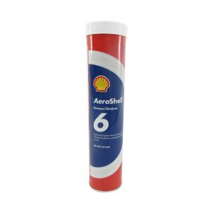 AeroShell - Grease 6 - Mineral Aircraft Grease - 400g (14.1 oz) Cart.