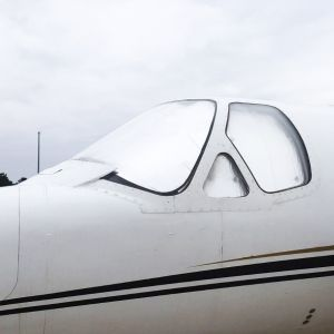 LOWLAND - Sun Shield for Cessna BRAVO - Set of 5 pcs.