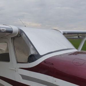LOWLAND - Sun Shield for Cessna 172 - Set of 3 pcs.