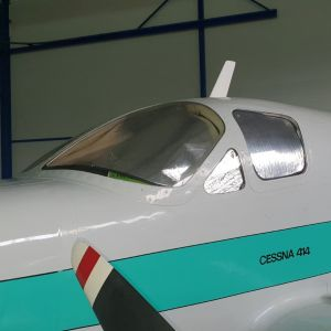 LOWLAND - Sun Shield for Cessna 414 - Set of 6 pcs.