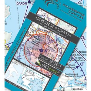 Rogers Data - Greece North VFR Chart - ICAO Chart