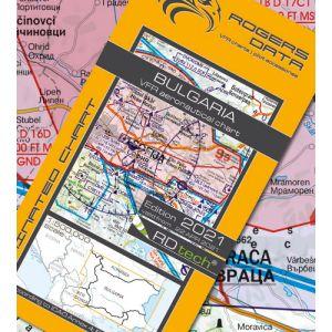Rogers Data - Bulgaria VFR Aeronautical Chart - ICAO Chart