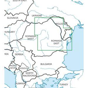 Rogers Data - Romania East VFR Aeronautical Chart - ICAO Chart