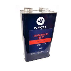 TOTAL NYCO - HYDRAUNYCOIL FH51 - Hydraulic fluid - 5 Lit
