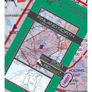 Rogers Data - Finland North VFR ICAO Chart