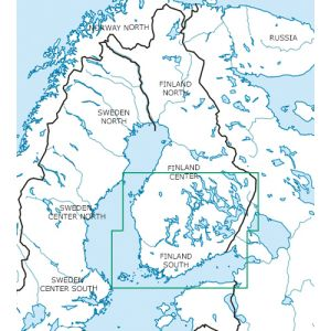 Rogers Data - Finland South VFR ICAO Chart