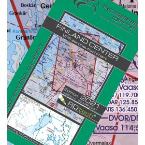 Rogers Data - Finland Center VFR ICAO Chart