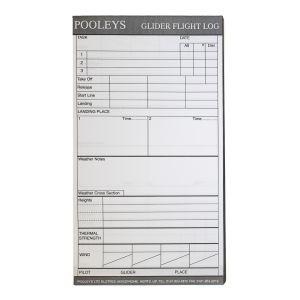 Pooleys - Glider Flight Log Pad - NLP050
