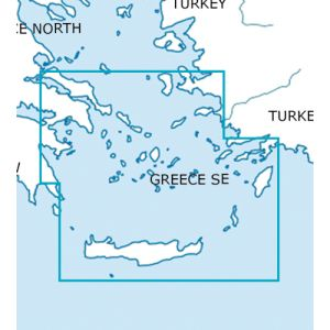 Rogers Data - Greece South East VFR Chart - ICAO Chart