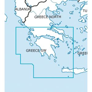 Rogers Data - Greece South West VFR Chart - ICAO Chart