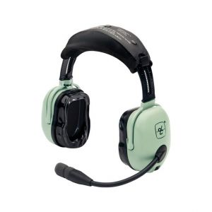 The David Clark H20-10 headset has patented headpad suspension, the headband being designed to cradle your head just enough to block the noise The contoured gel earseals are molded to your head.