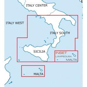 Rogers Data - Italy South VFR Aeronautical Chart - ICAO