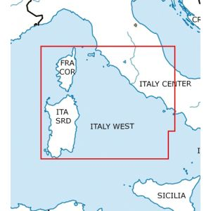 Rogers Data - Italy West VFR Aeronautical Chart - ICAO