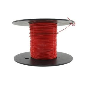M22759/18-24-2 - Red Airframe Wire - AWG 24 - 100Ft.