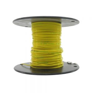 M22759/18-24-4 - Yellow Airframe Wire - AWG 24 - 100Ft.