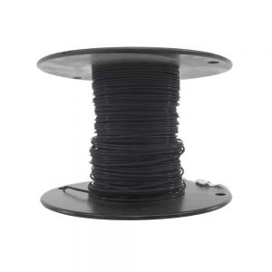 M22759/18-18-0 - Black Airframe Wire - AWG 18 - 100Ft.