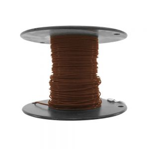 M22759/18-24-1 - Brown Airframe Wire - AWG 24 - 100Ft.