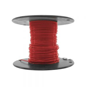 M22759/18-18-2 - Red Airframe Wire - AWG 18 - 100Ft.