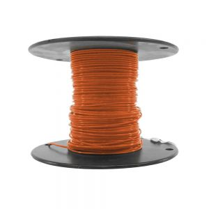 M22759/18-24-3 - Orange Airframe Wire - AWG 24 - 100Ft.