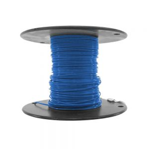 M22759/18-18-6 - Blue Airframe Wire - AWG 18 - 100Ft.