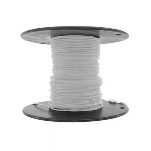M22759/18-24-9 - White Airframe Wire - AWG 24 - 100Ft.