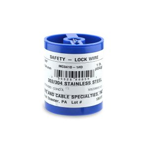 MC0410-1#D - Stainless steel Aerospace Lockwire - 1Lb. (454g) - 0.041