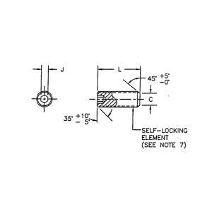 McFarlane - MS51031-137 - SCREW - Set - 3/8-24 - SS