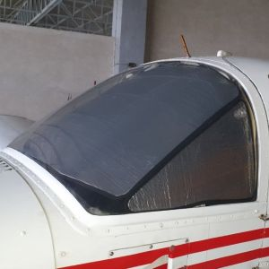 LOWLAND - Sun Shield for Piper PA38 - Set of 3 pcs.