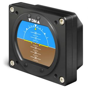 RC Allen 2-inch RCA 2600-2 DIGITAL Attitude indicator NEW model