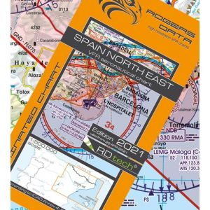 Rogers Data - Spain North East VFR Chart – ICAO