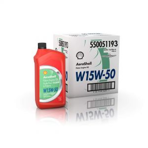 Aeroshell - W 15w-50 - SAE 50 - Piston Engine Oil - 12*1 USQ