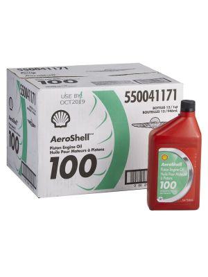 AeroShell 100 - SAE 50 - Mineral Piston Engine Oil - 12*1 USQ