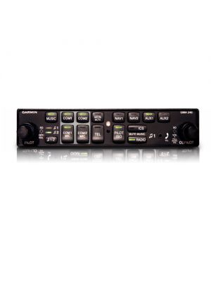 Garmin GMA 240 Audio Panel for light sport (LSA) aircraft- 010-00735-01