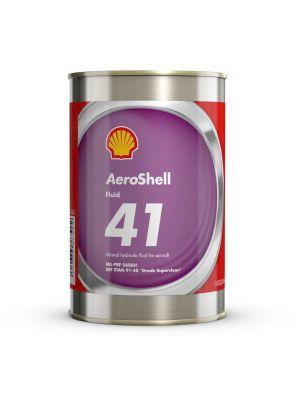 Aeroshell - Fluid 41 - Mineral hydraulic oil - 1 USQ