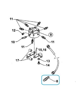 Lycoming - LW-18265 - Nozzle Injection - Low